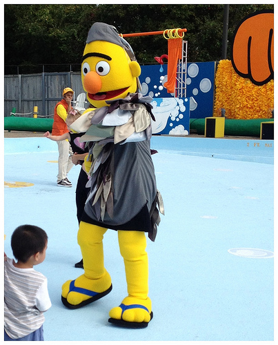 families are encouraged to come dressed in costume its too chilly for their water rides but that doesnt mean you cant enjoy the dozen dry rides - Sesame Place Halloween
