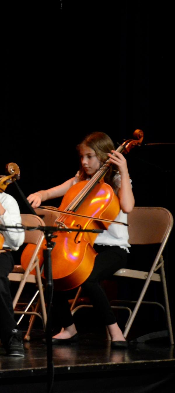 our cellist