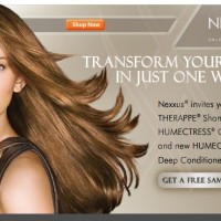 Nexxus Shampoo, Conditioner, Deep Conditioner Free Sample