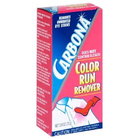 carbonna color run remover