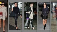 Celebrity Airport Fashion