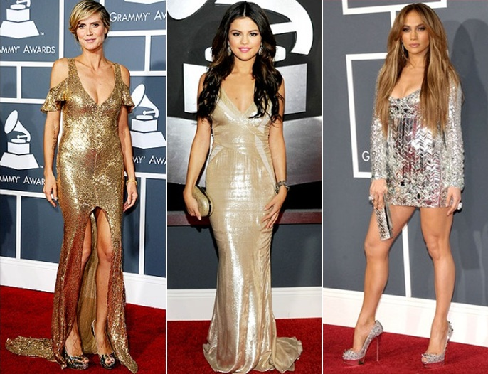 jennifer lopez 2011 grammys dress. A shiny dress can go south