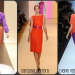 NYFW Spring 2011 Orange and Purple