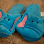 Valentine kids slippers