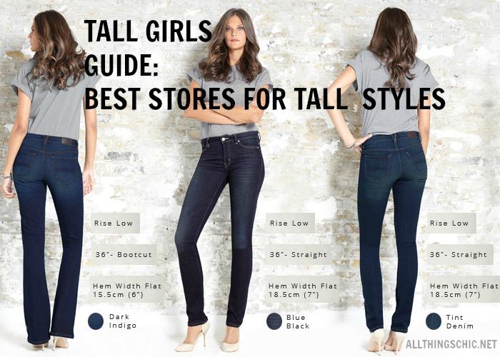 Do clothes for taller women exist