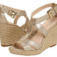 Go-To Shoe: Metallic Wedges
