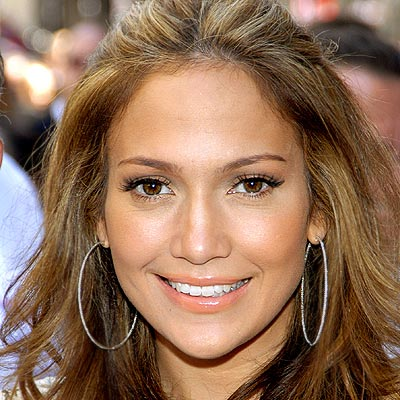 Jennifer Lopez  Color on Jennifer Lopez Makeup