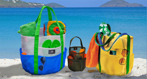 Saltwater Canvas: THE Beach Bag