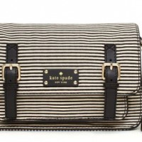 3 Black and White Bags by Kate Spade