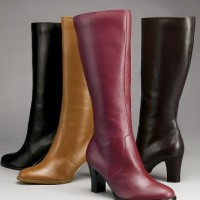 wide calf dress boots from Silhouettes