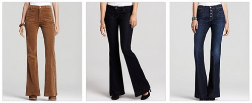 flares   hot trends for fall