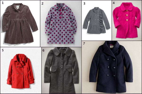 Holiday Dress Coats for Girls