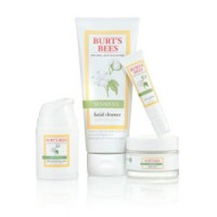 burt's bees sensitive skin care solution line