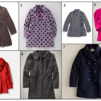 Holiday and Warm Dress Coats for Girls