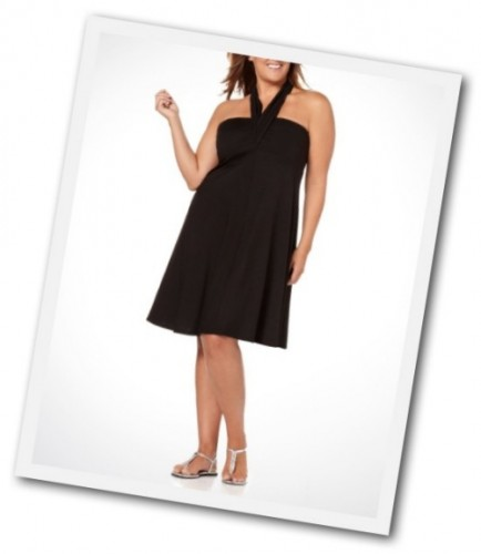 plus size convertible dress from Addition Elle