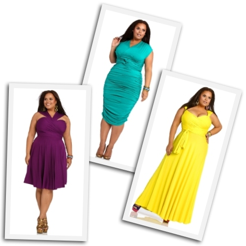 plus size convertible dresses by Monif C