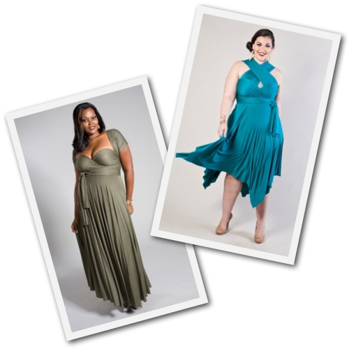 plus size convertible dresses by Swak Designs