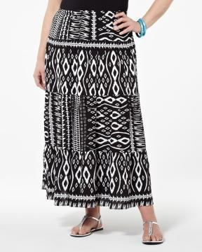 plus size maxi skirts from Addition-Elle