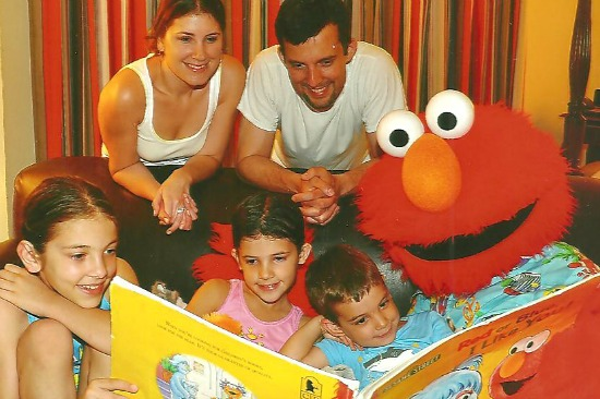 Character Tuck-in with Elmo