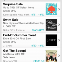 Swirl iPhone App: Shopping Just Got Easier! *GIVEAWAY*