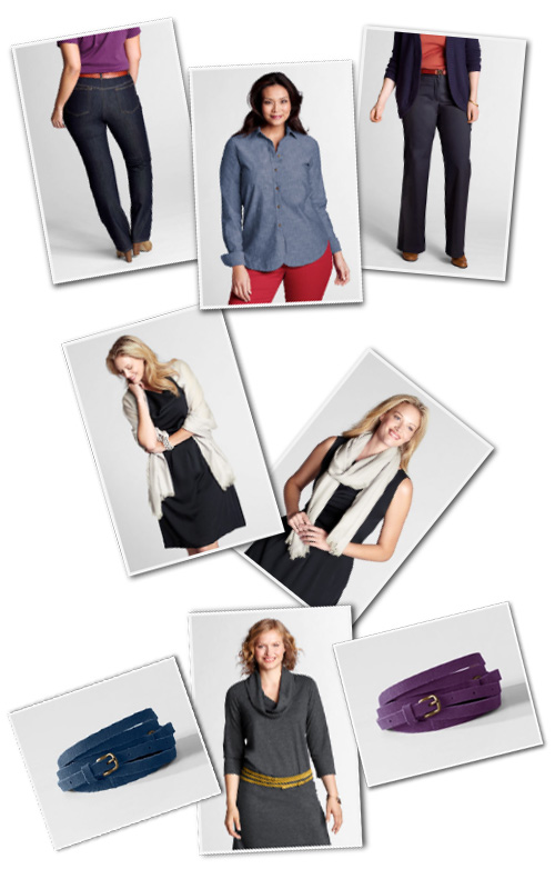 plus size clothing from Lands' End