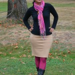 pink chai style, coloured tights, colored tights