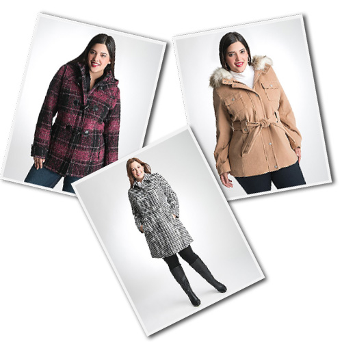 plus size outerwear and coats from Lane Bryant