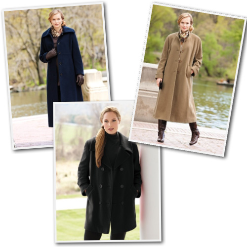 Plus size dress coats from Ulla Popken.