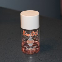 A bottle of Bio-Oil.