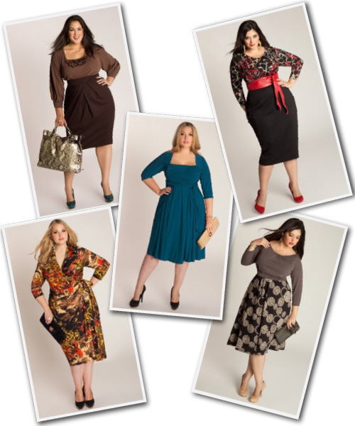 Plus Size Career Dresses from Igigi.