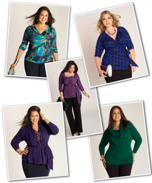 Plus Size Career Tops from Igigi