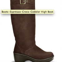 crocs cobbler high boots