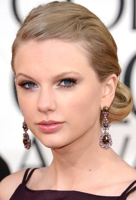 Taylor Swift Golden Globes 2013 Statement Earrings