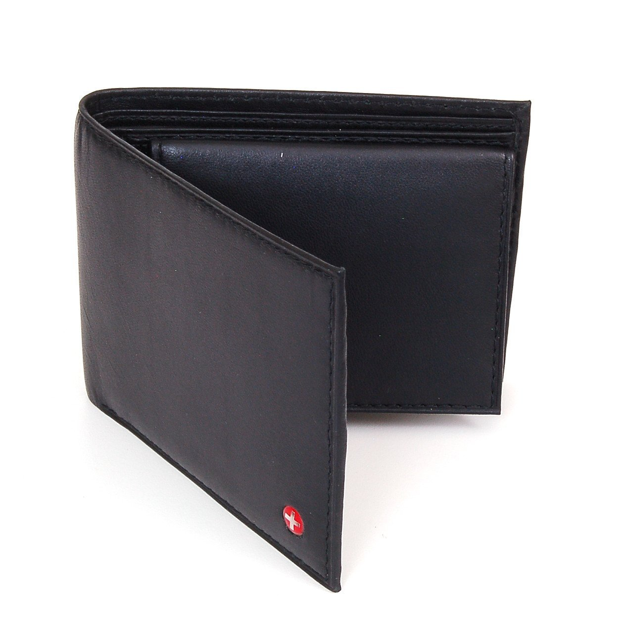 alpine swiww men's leather wallet