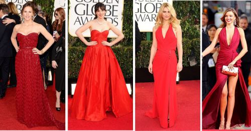goldenglobes2013 red