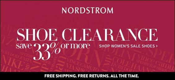 Nordstrom Shoe Clearance