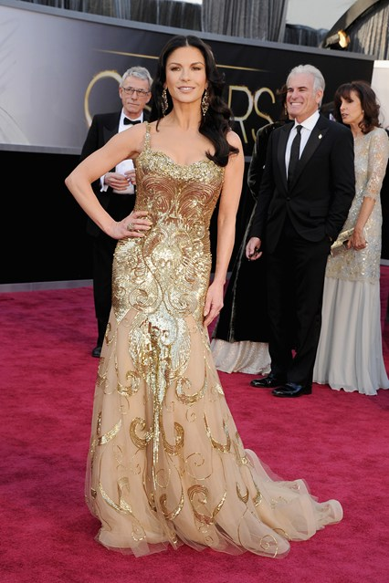 Catherine Zeta Jones Oscars 2013