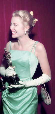 grace kelly edith head 1955 oscars