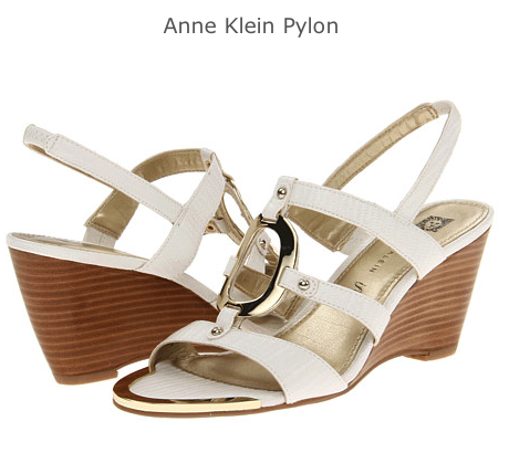 Anne_Klein_Pylon_White_Sandals