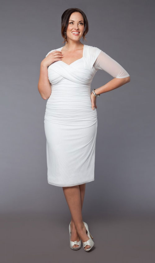 Plus size short wedding dresses kapres molene plus size short wedding dresses junglespirit Images