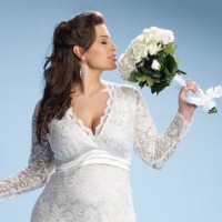 Plus size wedding dresses.