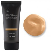 arbonne sheer finish tinted moisturizer