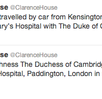 Princess Kate Enters London Hospital