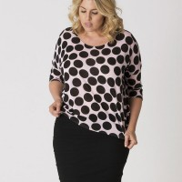 This Dottie Top is by Zelie For She.