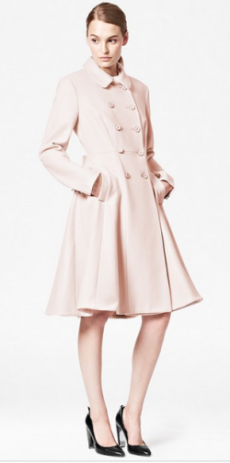 French Connection Pastel Pink Coat
