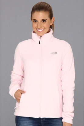 North Face Pastel Pink Jacket