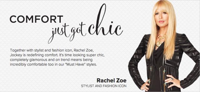 Rachel Zoe for Jockey