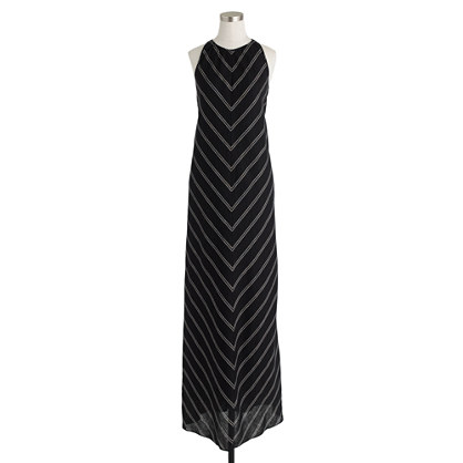 chevron maxi dress a must have for summer