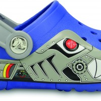 15362-486--SIDE--CrocsLights_Robo_Shark_Clog_PS--Sea_Blue-Silver