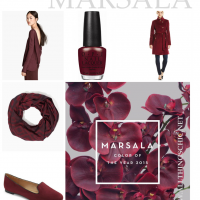 How to Wear: Marsala